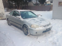 2000 Honda Civic SI-G Coupe (2 door)