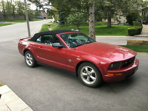 2009 Ford Mustang Pony Convertible