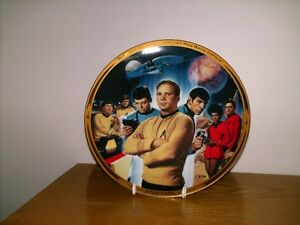 25th Anniversary Star Trek Plate