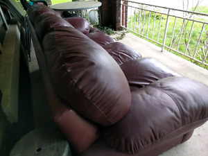 Leather Couch $100