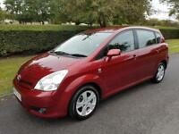 TOYOTA COROLLA VERSO 1.8 VVT-i (T3) - 5 DOOR - 2005 - RED **7 SEATER**