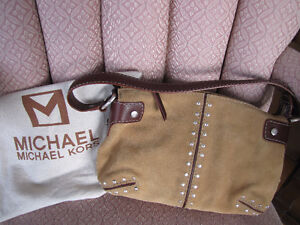Michael Kors Purse-Brand New-Brown Suede