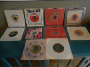 Vinyl Records Rock N Roll 45 RPM Singles 60's 70's Lots