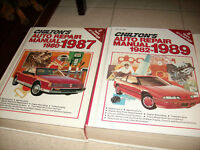 Chilton's Auto Repair Manuals