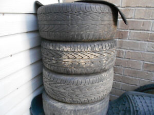 CONTINENTAL  215 55R16 185 55R15 195 55R15 AND RIMS