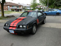 1985 MUSTANG COBRA GT WITH T-TOPS. $5500 O.B.O MUST GO THIS WEEK