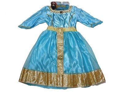 NEW Girl Disney Pixar Brave Merida Royal Dress Up Halloween Costume Size 4/6X](Pixar Up Costumes)