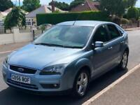 2007/56 FORD FOCUS 1.6 TITANIUM, PETROL, MANUAL, 5-DR ***NEW MOT*** 76,000 MILES
