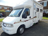 Autocruise Starspirit Peugeot 2.8 Diesel 2 Berth For Sale with U Shape Lounge