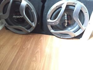12 inch pioneer pro subs with bassworx box