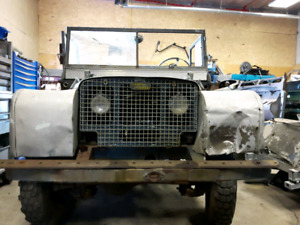 Series one Land Rover 1950's vintage wanted