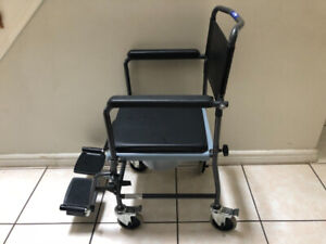 Portable Commode Chairs with Wheels