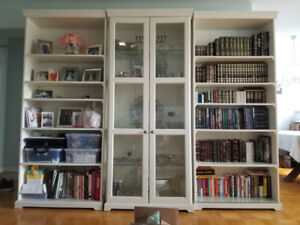 Beautiful 3 Piece Bookcase/Display Unit for Sale
