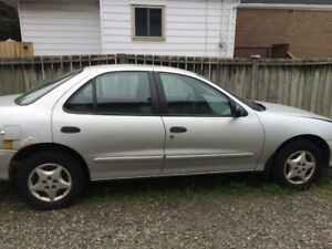 2001 Chevrolet Cavalier PART OUT ONLY