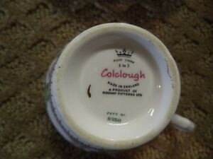 ROYAL STAFFORD AND COLCLOUGH TEA CUP AND SAUCER Windsor Region Ontario image 2