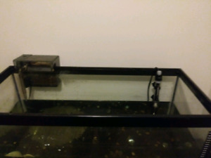 50 gallon Fish tank and stand heater felter
