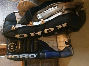 Old Style KOHO Goalie Pads 32 inches