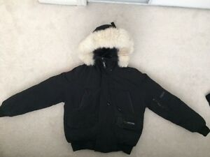 Canada Goose' Black X-Small 5055L Ladies Camp Hoody Black, X-Small