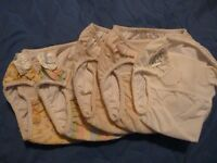 Lot of used swim diapers and reusable training pants!
