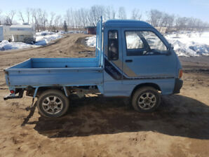 1993 Daihatsu Blue JUMBO mini truck for sale