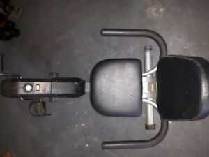 Exercise Machine, used but good condition. bike type indoor. $40