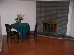 1 bedroom clean basement apartment for ONE person.