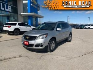 2015 Chevrolet Traverse LT  SUNROOF - LEATHER - 8 PASSENGER