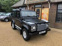 2006 Land Rover DEFENDER 90 TD5 XS STATION WAGON Manual Estate