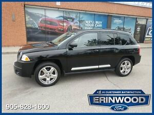 2007 Jeep Compass Limited4x4 / ROOF / LTHR / CHRMS / LOW KM'S !!