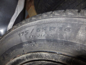 Winter Tires & Rims for 2007 or 2008 Honda Fit London Ontario image 4