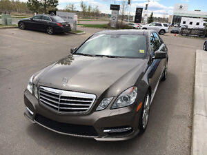 2013 Mercedes-Benz E350 4Matic Premium Package Loaded + Warranty