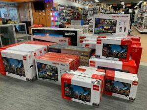 RCA, SANYO, SAMSUNG, SHARP, LG HD TV ON LOWEST PRICES