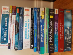 Nursing Textbooks- RPN and RN