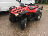 Honda rancher 350 4x4 farm quad new shape