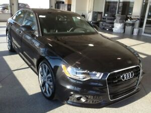 2012 Audi A6 3.0T Tip Premium Plus Sedan with S-Line Package