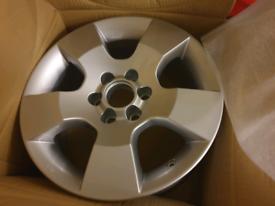 Nissan alloy wheels
