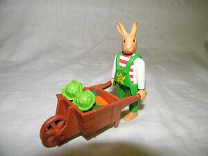 Playmobil figurine lapin #4451