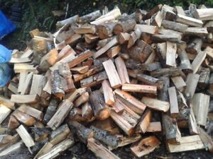 2 yr seasoned Mixed Hardwood - Premium Split Firewood - Full/Hal