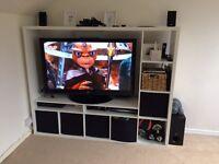 Ikea tv storage unit white
