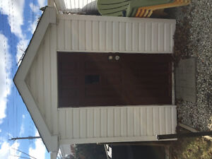 6' X 8' SHED.