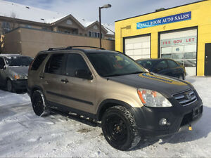 2006 Honda CR-V, TWO SETS TIRE, SAFETY CERTIFIED,NO ACCIDENT!!!