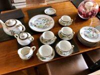 Vintage Quality Porcelain Teaset