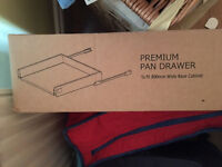 Pack of 2 NEW B&Q soft close pan drawers
