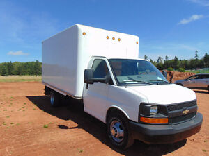 2010 Chevrolet Express 3500 Cube Van,Unicell body