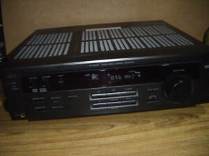 JVC AM/FM AUDIO VIDEO CONTROL RECEIVER    ..