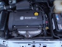 VAUXHALL ASTRA H / CORSA C / MERIVA B Z16XEP 1.6L TWINPORT ENGINE SPARES/REPAIR OPEN TO OFFERS!