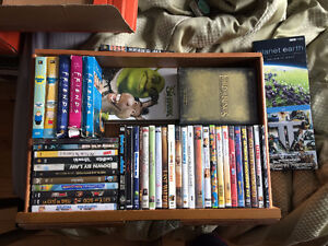 SELLING DVD COLLECTION-PICK UP WEST ISLAND ONLY-SERIES-BLURAY