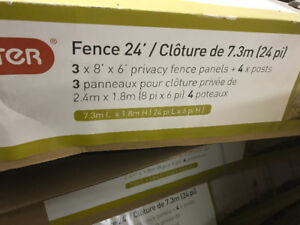 VINYL FENCE AT A GREAT PRICE