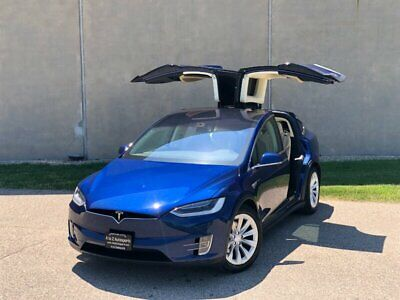 2016 Tesla Model X 90D 2016 Tesla Model X 90D Like S P90D P100D 100D - Beautiful Blue - LOW Miles