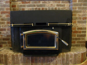 Elmira Wood Burning Fireplace Insert